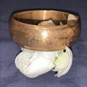 Handmade in India Brass Bangle